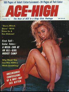 Retro nudist magazine something is