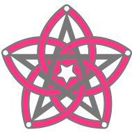Pentagramm & Venusblume