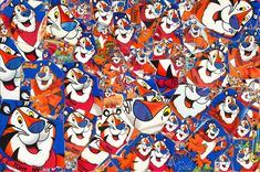 The Ballad of Tony the Tiger circa 2005 Original size X Frosted Flakes, Disney Characters, Fictional Characters, Art, Art Background, Kunst, Performing Arts, Fantasy Characters, Art Education Resources