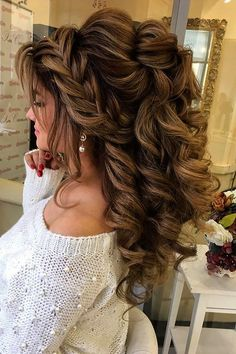 18 Creative & Unique Wedding Hairstyles ❤ See more: #weddings #hairstyles