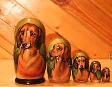 Russian Matryoshka --- how amazing is that! Would love to have this w/ black and tan dachshund! Dachshund Love, Daschund, Weenie Dogs, Dog Rules, All Dogs, Dog Art, Dog Life, Puppy Love, Fur Babies