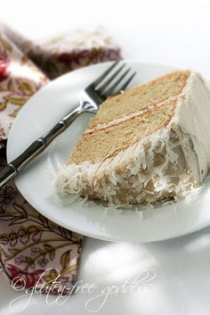 Coconut Cake (gluten-free, dairy-free)