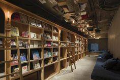 ที่พักโตเกียว BOOK&BED