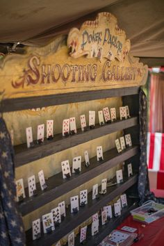 Shooting Gallery, Carnival Games