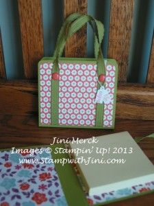 Bon Voyage Post it Note Holder - with video tutorial