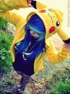Pikachu hoodie AHHHHHHHHHH so genial Pika-Pika-Pikachuuu ♥♥