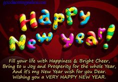Happy New Year Wishes 2019 The day of New Year is coming and masses of pleasure and happiness is going to be shared that day. Happy New Year Wishes Chinese New Year Wishes, Best New Year Wishes, New Year Wishes Images, New Year Wishes Quotes, Happy New Year Pictures, Happy New Year Message, Happy New Years Eve, Happy New Year Quotes, Happy New Year Greetings