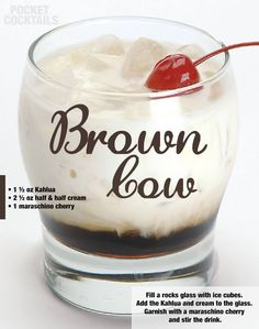 Millions of People Enjoy Pocket Cocktails. Check out our World Famous Drink Posters. Alcholic Drinks, Alcoholic Cocktails, Liquor Drinks, Cocktail Drinks, Fancy Drinks, Mixed Drinks Alcohol, Alcohol Drink Recipes, Kahlua And Cream, Shot Recipes