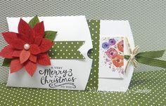 Nikki Spencer-My Sandbox Just Add Ink card holders. Stampin Up Christmas, Christmas Tag, Handmade Christmas, Gift Cards Money, Pretty Packaging, Pillow Box, Sandbox, Card Tutorials, Winter Cards