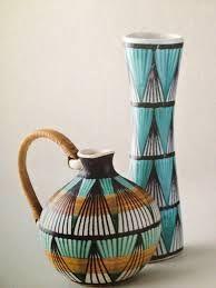 Orvokki Laine, Kupittaan Savi Finland Pottery Plates, Pottery Vase, Ceramic Pottery, Ceramic Art, Nordic Design, E Design, Scandinavian Design, Italian Pottery, China Painting