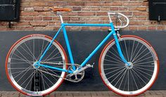 Cyan by Moosach Bikes #bicycle