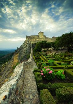 ysvoice:    | ♕ |  Garden of Marvão Castle, Portugal  | by Jsome1