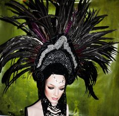 MADE TO ORDER  coque feather Fantasy by PoshFairytaleCouture, $289.00