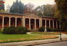 Baden Baden Germany..the trinkhall... visitor center, Heinrich Hübsch