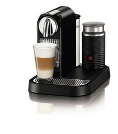 The Nespresso D121-US-BK-NE1 Citiz Espresso Maker with Aeroccino Milk Frother - more at http://chooseacoffeemaker.com/keurig-rivo-500-cappuccino-latte-system-vs-nespresso-d121-us-bk-ne1-citiz-espresso-maker-with-aeroccino-milk-frother