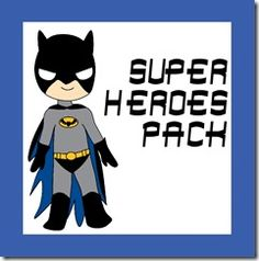superhero worksheets for kids. Great site generally for work printables