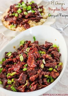Peachtree Cooking: PF Chang's Copycat Monglian Beef