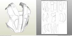 Foamcraft .pdo file template for Iron Man – Mark 4 & 6 Full Armor +FOAM+. Iron Man Cosplay, Cosplay Armor, Cardboard Costume, Cardboard Paper, Iron Man Suit, Iron Man Armor, Pepakura Iron Man, Foam Crafts, Paper Crafts