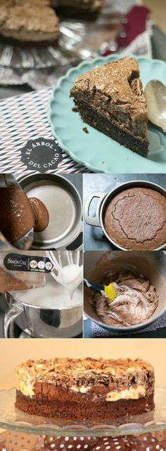 Tarta de Brownie y Merengue | Tasty Details