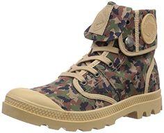 Palladium PALLABROUSE BAGGY P, Damen Desert Boots, Braun (KHAKI CAMO 901), 36 EU (3.5 Damen UK) - http://uhr.haus/palladium/36-eu-palladium-pallabrouse-baggy-p-damen-desert