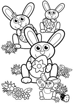 New Easter Coloring Pages
