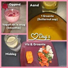 28 dae eetplan - Dag 5 Weer ander voorbeelde van hoe om jou etes te berei. Eenvoudig...en dit hoef nooit vervelig te wees nie Diet Meals, Diet Recipes, Healthy Recipes, 28 Dae Dieet, Dieet Plan, 28 Days, Fat Burner, Afrikaans, Eating Plans