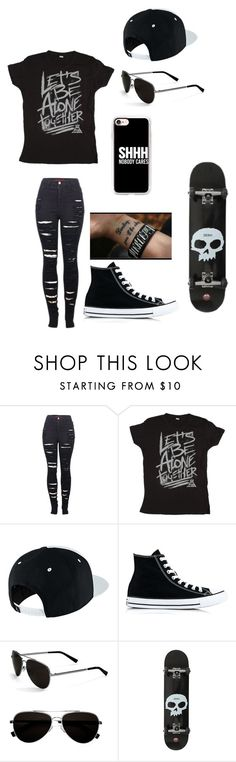 """Untitled #141"" by darksoul7 on Polyvore featuring 2LUV, NIKE, Converse, Calvin Klein and Casetify"