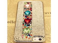 3D Gemstone With Crystal iPhone 5 Case