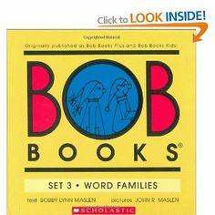 Bob Books Set 3- Word Families: Box Set: Bobby Lynn Maslen, John R Maslen: 9780439845090: Books - Amazon.ca