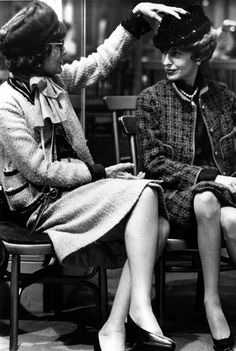 Two older women and Coco Chanel