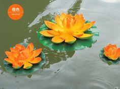 durchmesser künstliche lotus blume wasser schwimmenden blumen für weihnachten ornament hochzeit dekoration