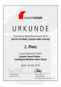Die Firma #Loxone wurde von #SmartHome mit dem 2. Platz ausgezeichnet. Damit ist das System #Loxone #SmartHome eines der besten Produkte in Deutschland! Auch die Firma Herwig #Haus bietet dieses System an. Mehr Informationen gibt es unter: www.herwig-haus.de
