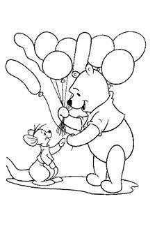 Ausmalbilder Winnie Pooh