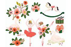 Prima Ballerina Ballet Swan Clip Art - Illustrations - 1