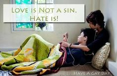 Love is not a sin!!!