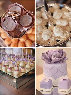pretty purple food
