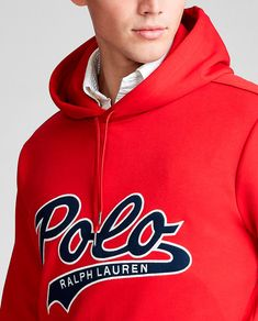 Polo Ralph Lauren, Athletic, Hoody, Sweatshirts, Sweaters, Jackets, Fashion, Cowls, Red