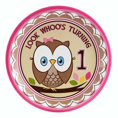 Owl-Themed Pink and Brown 1st Birthday... just perfect!
