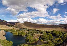 Rio Limay, Neuquen, Argentina