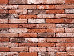 DzC0189 Dom na przedmieściach Łodzi Brick Facade, Brick Wall, Brick Texture, Chapelle, Brickwork, Cool Stuff, Wallpaper, Wood, Modern