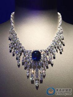 Piaget Sapphire diamond necklace