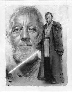 Ben Kenobi - Now and Then by ~Ethrendil on deviantART