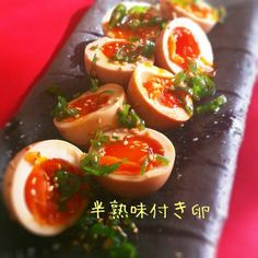 食べ過ぎちゃう~!!簡単とろ~り半熟味付き卵