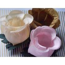 Forminhas De Flor Luxo Para Doces Finos