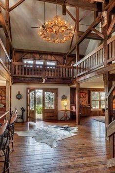 Country foyer entrance
