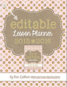Ready to Go.... lesson planner done!
