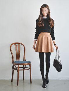 #Ruffled Collar #Blouse #koreanfashion