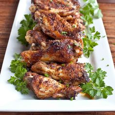 Easy Oven Baked Chipotle Wings
