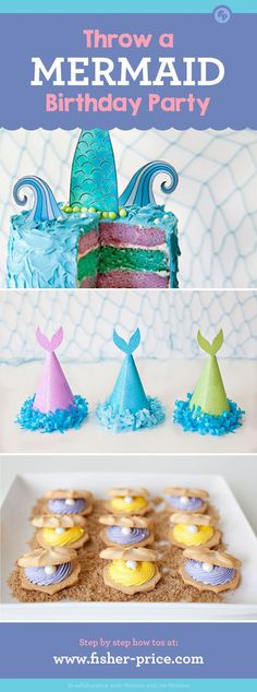 Throw a Mermaid Birthday Party