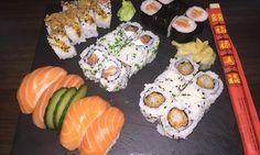 Plateau de sushis de 60 pièces à emporter - Restaurant Le Nippon à Marseille